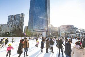 都内最大級の野外スケートリンクが東京ミッドタウンに登場