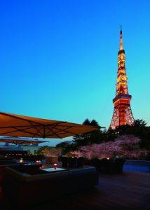 東京プリンスホテル、夜桜とともにジャズをテラスで楽しむイベント開催!